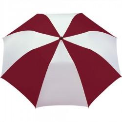 Promotional Burgundy & White 42 inchArc Printed Umbrellas