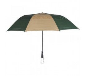 Promotional Hunter & Khaki 58 inchArc Vented Economy Umbrellas