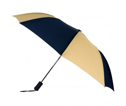 Promotional Navy & Khaki 43 inchWind Logo Imprinted Umbrellas