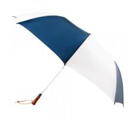 Promotional Navy & White 60 inchArc Auto Open Golf Umbrellas