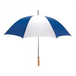 Promotional Royal & White 60 inchArc Sport Golf Logo Umbrellas