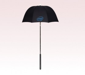 Personalized Black 32 inch Arc Golf Bag Umbrellas