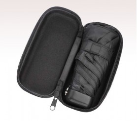 Personalized Black 37 inch Arc Deluxe Folding Umbrellas