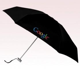 Personalized Black 40 inch Arc Manual Open MicroMax Umbrellas