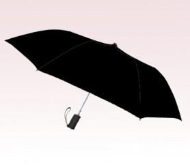 Personalized Black 42 inch Arc Spectrum Auto- Open Folding Umbrellas