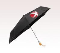 Personalized Black 42 inch Auto Open/Close Umbrellas
