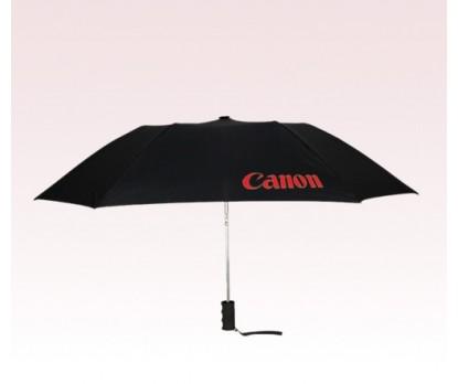 Personalized Black 43 inch Arc Automatic Open Quad Umbrellas
