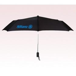 Personalized Black 43 inch Arc Automatic Open/Close Umbrellas