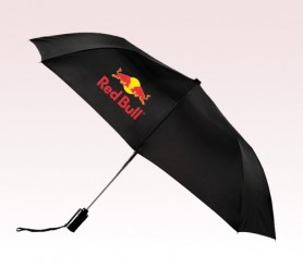 Personalized Black 43 inch Arc Mist Umbrellas