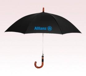 Personalized Black 46 inch Arc Executive Fashion Umbrellas