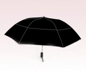 Personalized Black 46 inch Arc Vented Grand Traveler Umbrellas