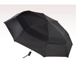 Personalized Black  55 inch Arc Totes Stormbeater Auto - Open Folding Umbrellas