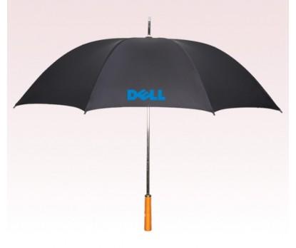 Personalized Black 55 inchArc Manual-Open Golf Umbrellas