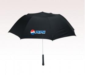 Personalized Black 56 inch Arc Giant Telescopic Folding Umbrellas