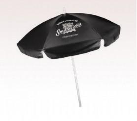 Personalized Black 6.5 Ft Vinyl Patio/ Cafe Umbrellas