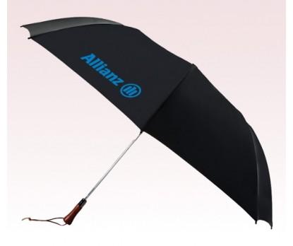 Personalized Black 60 inch Arc Auto-Open Golf Umbrellas