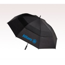 Personalized Black 60 inch Arc Totes Stormbeater Golf Stick Umbrellas