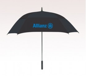 Personalized Black 60 inchArc Square Umbrellas