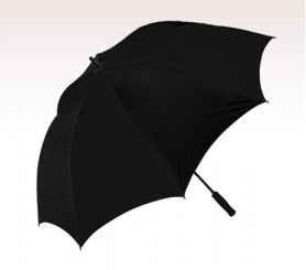 Personalized Black 62'' Arc Pro Golf Umbrellas