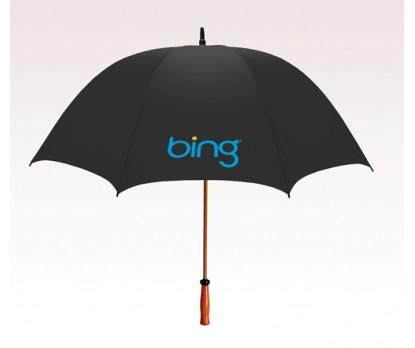 Personalized Black 64 inchArc Mulligan Golf Umbrellas
