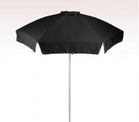 Personalized Black 7 ft Patio/Cafe Umbrellas