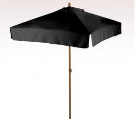 Personalized Black 7 ft x 4 Panel Configuration Square Market Umbrellas