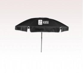 Personalized Black 72 inch Arc Reinforced Patio/Beach Umbrellas