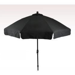 Personalized Black 9 ft x 8 Panel Patio Umbrellas