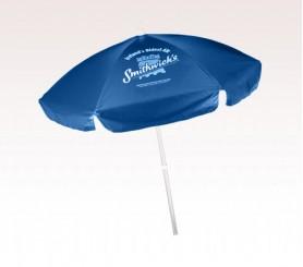 Personalized Cobalt Blue 6.5 Ft Vinyl Patio/ Cafe Umbrellas