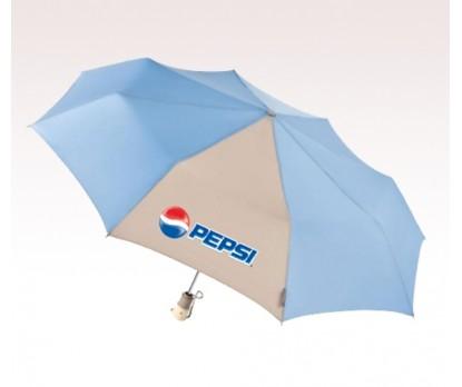 Personalized Light Blue 44 inch Arc Totes Eco inchbrella inch Auto Open/Close Umbrellas