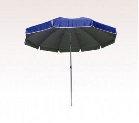 Personalized Navy Blue 100 inch Arc Large Ten Panel Patio/ Beach Umbrellas with Fiberglass Frame