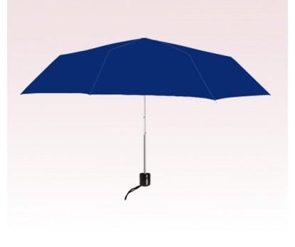 Personalized Navy Blue 41 inch Arc Econo Folding Umbrellas