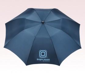 Personalized Navy Blue 42 inch Arc Auto Folding Umbrellas