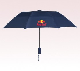 Personalized Navy Blue 43 inch Arc Raindrop Umbrellas