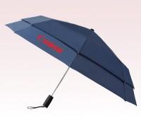 Personalized Navy Blue 43 inch Arc Vented Auto Open/Auto Close Umbrellas