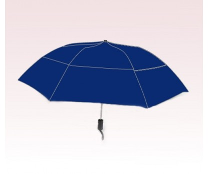 Personalized Navy Blue 46 inch Arc Vented Grand Traveler Umbrellas