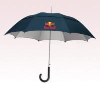 Personalized Navy Blue 48 inch Arc UVdefyer Umbrellas