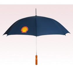 Personalized Navy Blue 48 inchAuto Open Logo Umbrellas