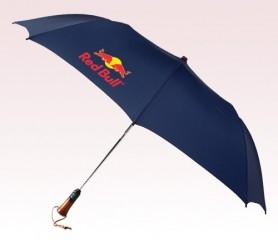 Personalized Navy Blue 56 inch Arc Auto-Open/Close Magnum Umbrellas