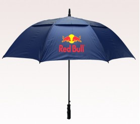 Personalized Navy Blue 58 inchArc Vented Golf Umbrellas