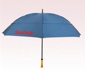 Personalized Navy Blue 64 inch Arc Tornado Golf Umbrellas