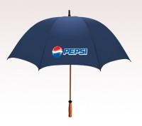 Personalized Navy Blue 64 inchArc Mulligan Golf Umbrellas