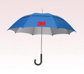 Personalized Royal Blue 48 inch Arc UVdefyer Umbrellas