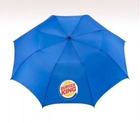 Personalized Royal Blue 58 inch Arc Folding Golf Umbrellas