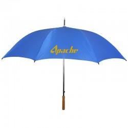 Personalized Royal Blue 60 inch Arc Auto Open/Close Golf Umbrellas