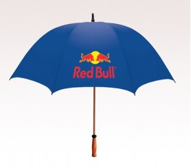 Personalized Royal Blue 64 inchArc Mulligan Golf Umbrellas