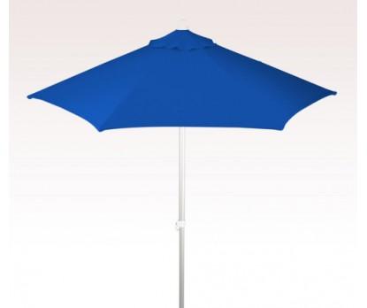 Personalized Royal Blue 7 ft x 6 Panel Configuration Market Umbrellas