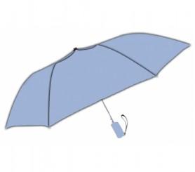 Personalized Sky Blue 42 inch Arc Windproof Vented Auto-Open Folding Umbrellas