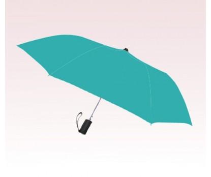 Personalized Teal Blue 42 inch Arc Spectrum Auto- Open Folding Umbrellas