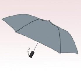 Personalized Gray 42 inch Arc Gray Spectrum Auto- Open Folding Umbrellas